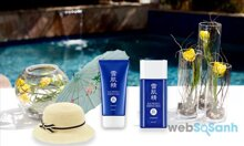 Kem chống nắng Kose Sekkisei Sun Protect Gel/Milk SPF50+/PA++++