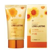 Kem chống nắng Natural Sun Eco Power Long-Lasting của The Face Shop có tốt không?