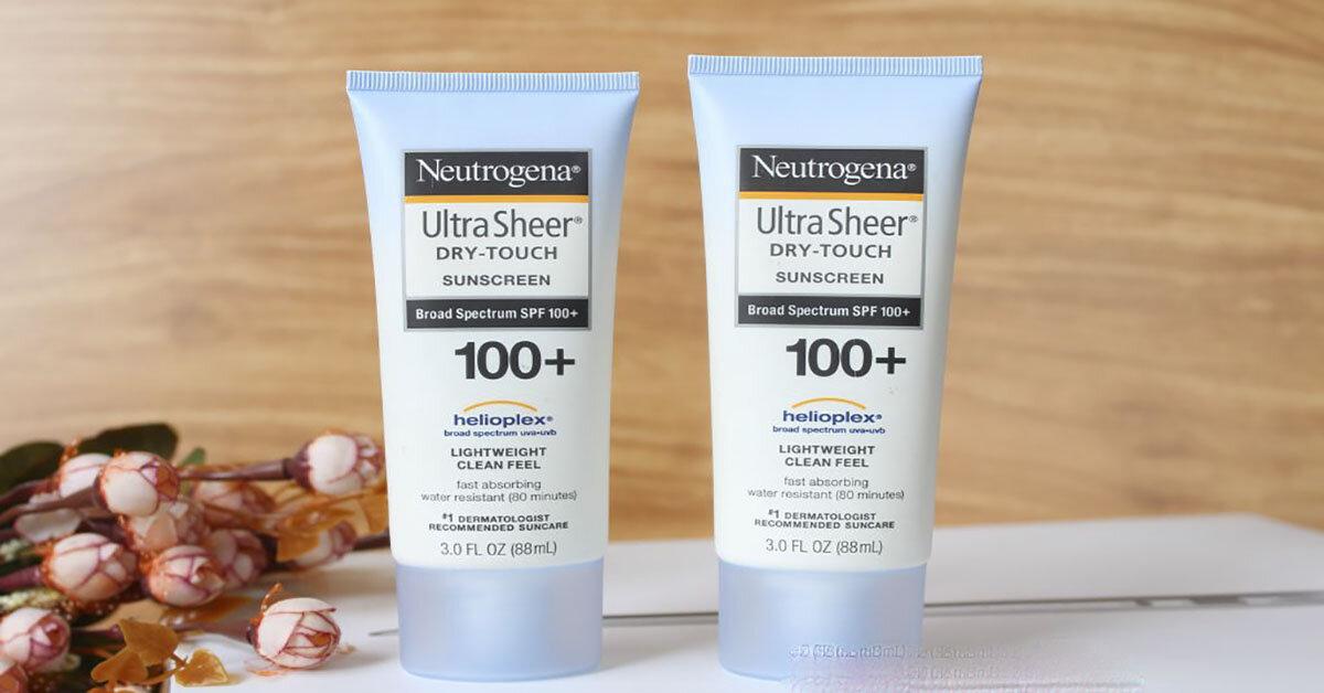 Kem chống nắng Neutrogena sự lựa chọn đáng tin cậy ? Mua ở đâu giá rẻ chất lượng ?