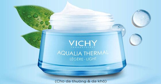 Kem dưỡng ẩm Vichy: sản phẩm của thương hiệu danh tiếng