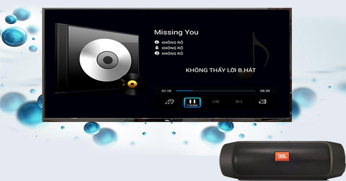 Kết nối bluetooth với bàn phím, chuột trên smart tivi