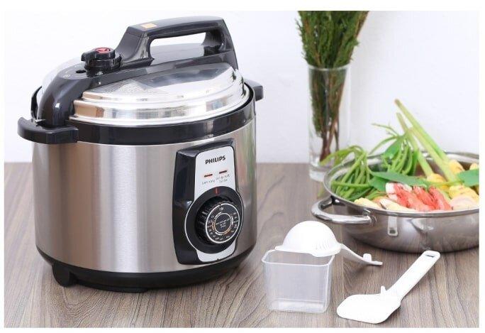 Nồi áp suất điện với nhiều chức năng nấu nướng đa dạng