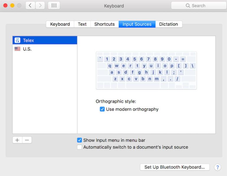 Lúc này, bàn phím tiếng Việt đã được thêm vào máy tính