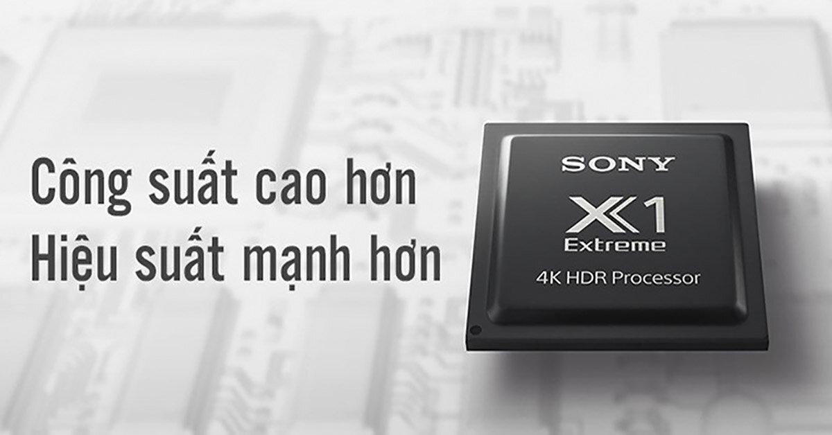 Khám phá con chíp xử lý hình ảnh 4K HDR X1 Extreme của tivi Sony