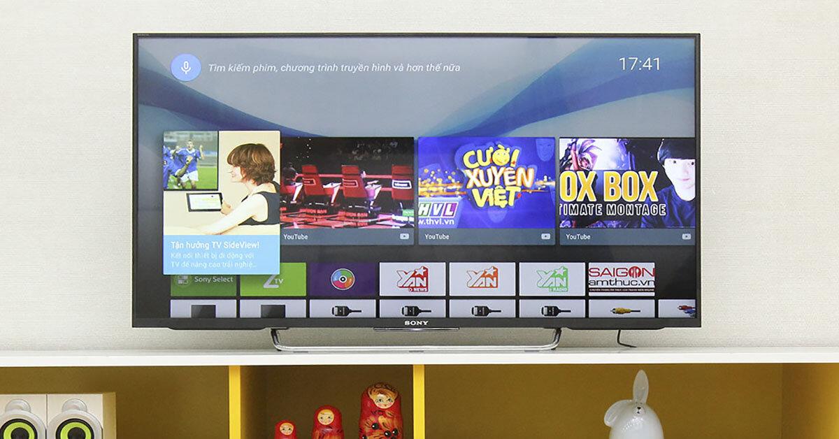 Khám phá những công nghệ nổi bật hàng đầu trên tivi Sony