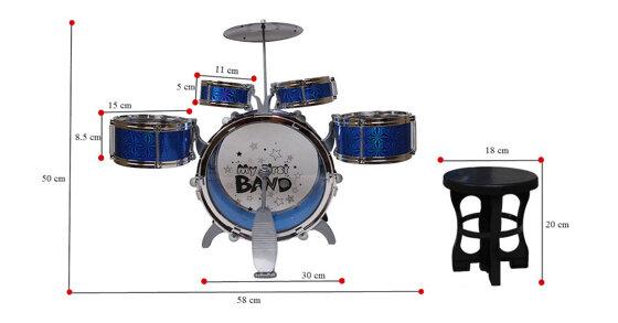 Khám phá những điều mới lạ quanh bộ trống Jazz Drum 6 dụng cụ