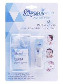 Khăn giấy nén Kiyomi – An toàn cho bé, tiện lợi cho mẹ