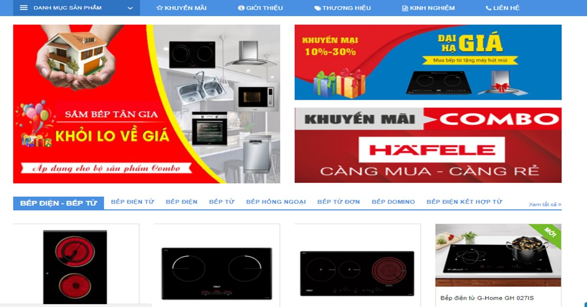 Khanhvyhome.com – Địa chỉ mua thiết bị nhà bếp uy tín chất lượng