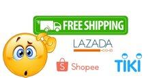 Khi nào được miễn phí vận chuyển – freeship khi mua hàng trên Lazada, Tiki, Shopee?