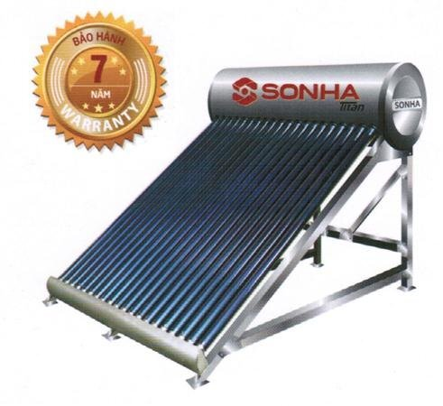 Máy nước nóng năng lượng mặt trời Sơn Hà TITAN 260 lít