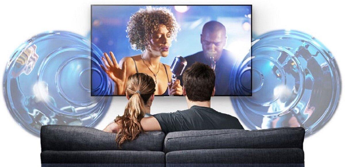 Không chỉ 1 mà tivi Sony sử dụng tới 3 loại loa khác nhau