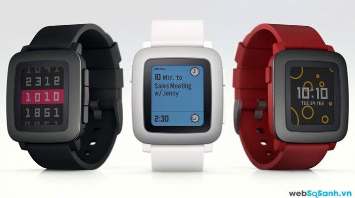 Kichstarter ra mắt đồng hồ Pebble Time với màn hình màu và thời lượng pin lên đến bảy ngày
