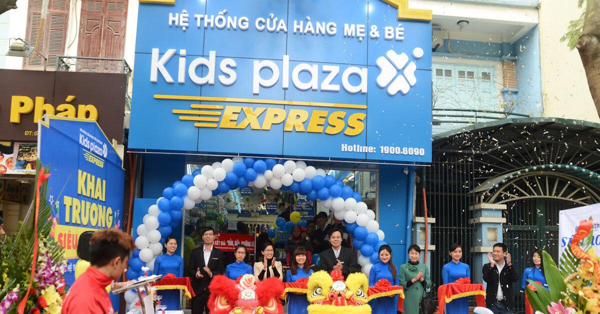 Kids Plaza – Hệ thống cửa hàng Mẹ bầu & Em bé hàng đầu tại Việt Nam