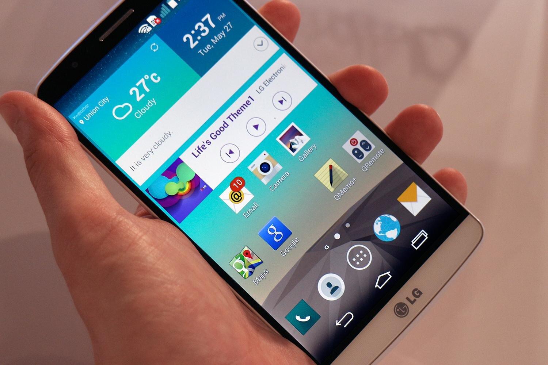 Kiểm nghiệm độ bền LG G3 bằng màn thả rơi