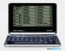 Kim từ điển SD363M (SD-363M)  tích hợp 25 bộ đại từ điển thông dụng