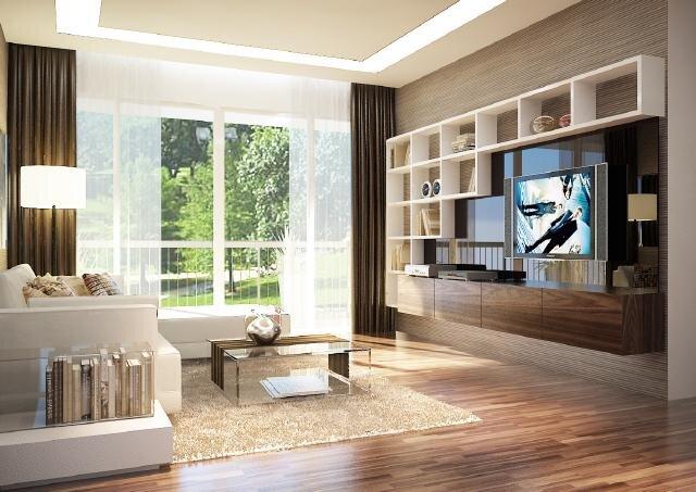 Kinh nghiệm chọn kệ tivi đẹp cho căn hộ gia đình hiện đại