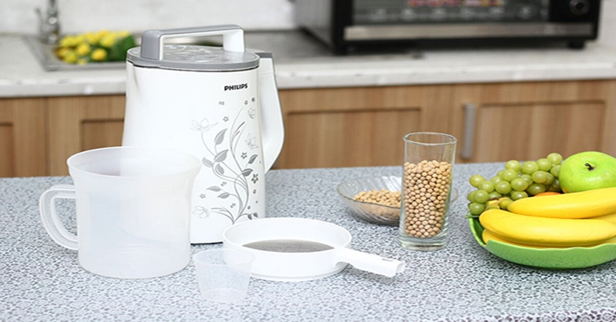 Kinh nghiệm chọn mua máy làm sữa đậu nành