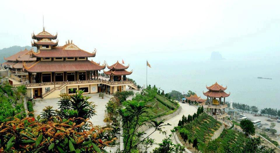 Kinh nghiệm du lịch chùa Cái Bầu Quảng Ninh (Thiền viện Trúc Lâm Giác Tâm) 2016