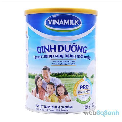 Sữa bột Vinamilk Dinh dưỡng giúp tăng cân