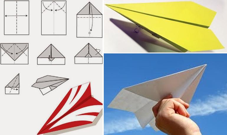 Cách làm máy bay giấy - trò chơi được yêu thích bất kể mọi lứa tuổi