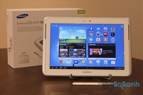Máy tính bảng Galaxy Note 10.1