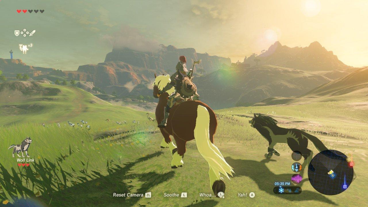 The Legend of Zelda: Breath of the Wild trên Switch