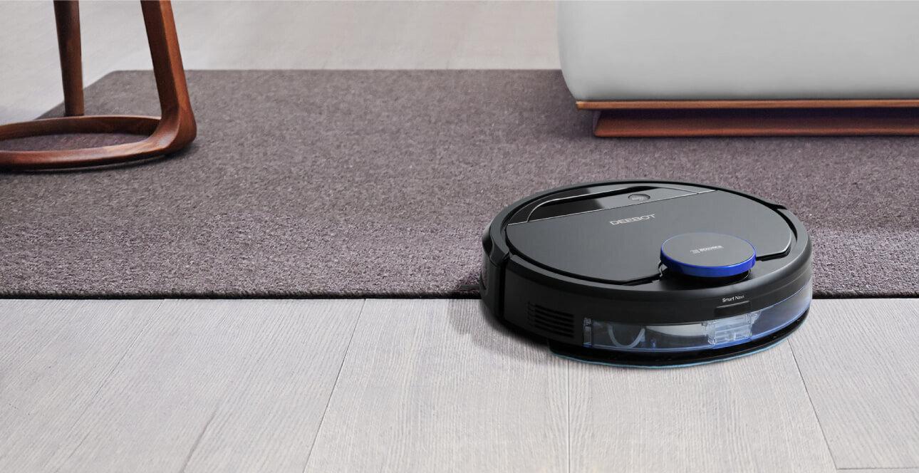 Chế độ làm sạch thông minh giúp Ecovacs Deebot loại sạch mọi vết bẩn tại căn nhà