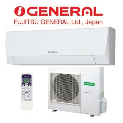 Điều hòa - Máy lạnh General ASGG09JL (ASGG09JLC) - inverter, 1 chiều, 9000BTU