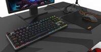Krom Kernel TKL: Chiếc bàn phím cơ nhỏ gọn, đèn đóm đẹp mắt trong tầm tiền 1 triệu