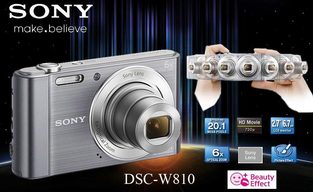 Máy ảnh Sony thiết kế đẹp mắt