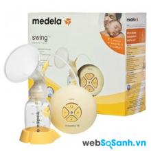Máy hút sữa Medela Swing 2 giai đoạn kích sữa về nhanh hơn