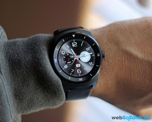 Màn hình LG G Watch R. Nguồn Internet