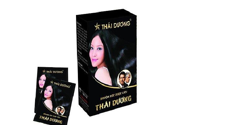 Dầu gội thảo dược đen tóc Thái Dương