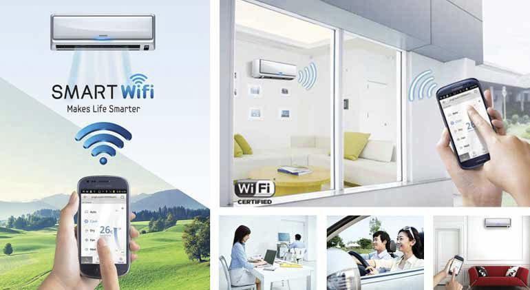Điều hoà wifi có ưu nhược điểm gì ? Chất lượng có tốt không ?
