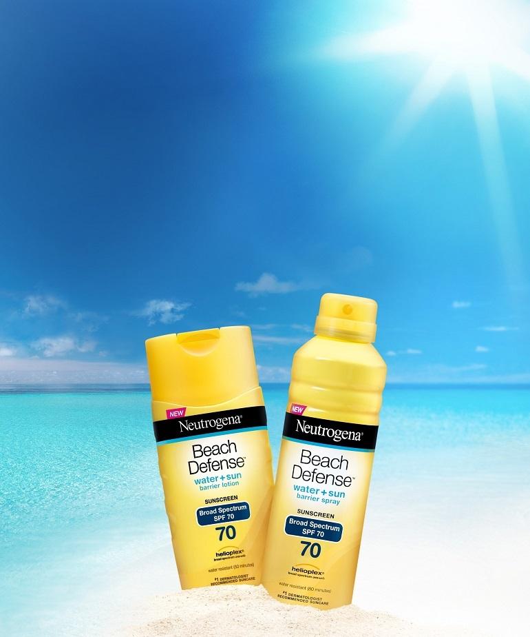 Kem chống nắng toàn thân Neutrogena beach defense sunscreen body lotion