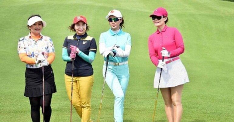 mũ đánh golf nữ