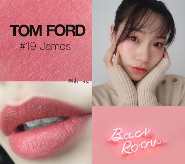 Tom Ford Lips & Boys màu 19 James