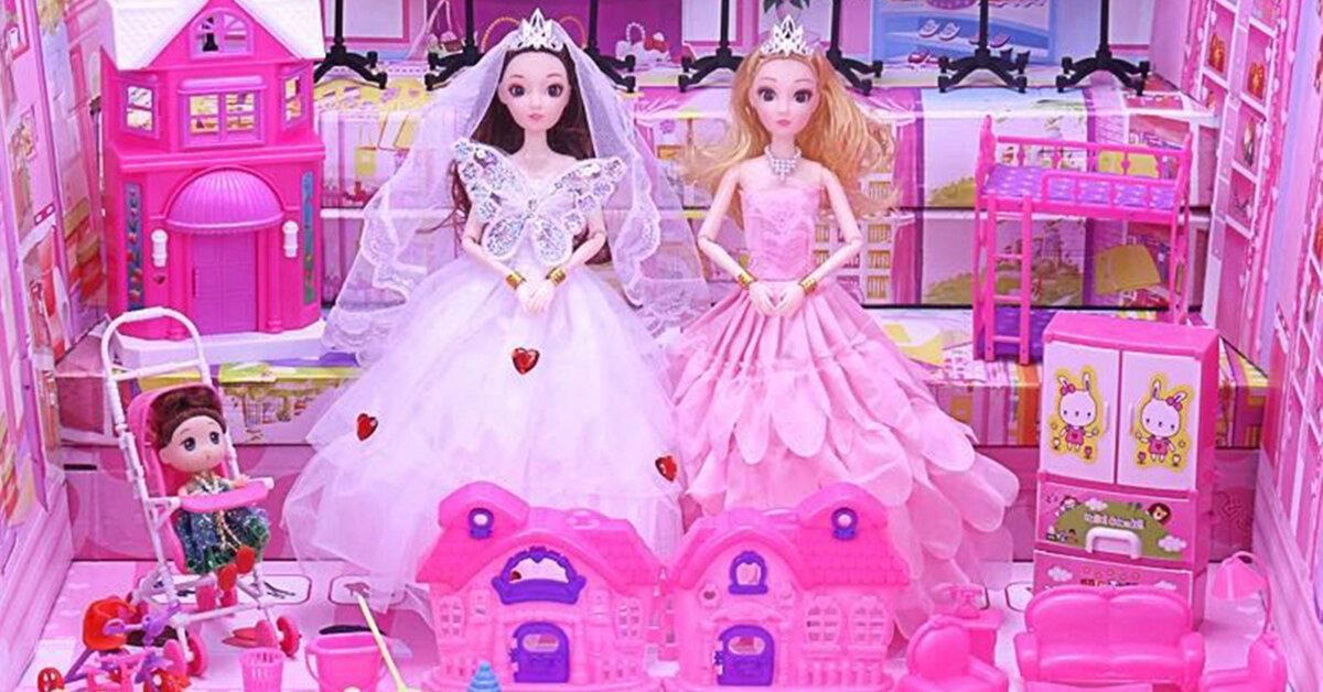 Đồ chơi búp bê Barbie rất được ưa chuộng vì sao?