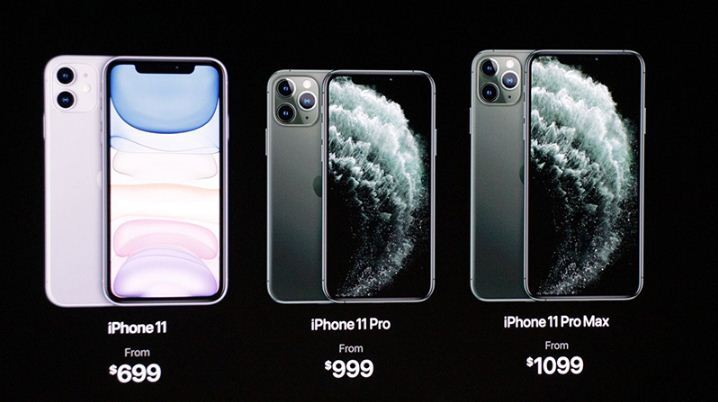 Giá iPhone 11 / iPhone 11 Pro / iPhone 11 Pro Max