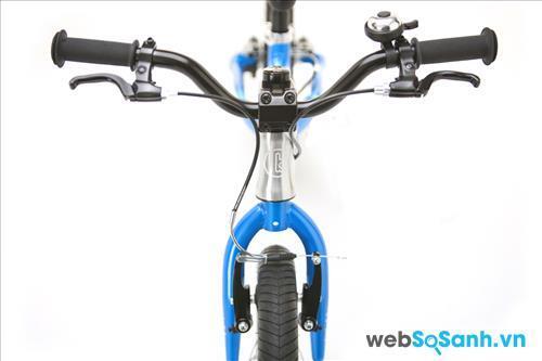 Hệ thống phanh an toàn rất cần thiết trên chiếc xe đạp cho bé