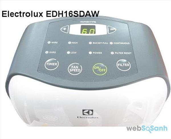 máy hút ẩm Electrolux EDH16SDAW