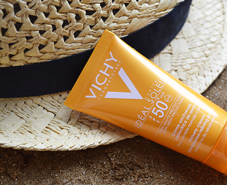 Review kem chống nắng Vichy Ideal Soleil SPF 50+