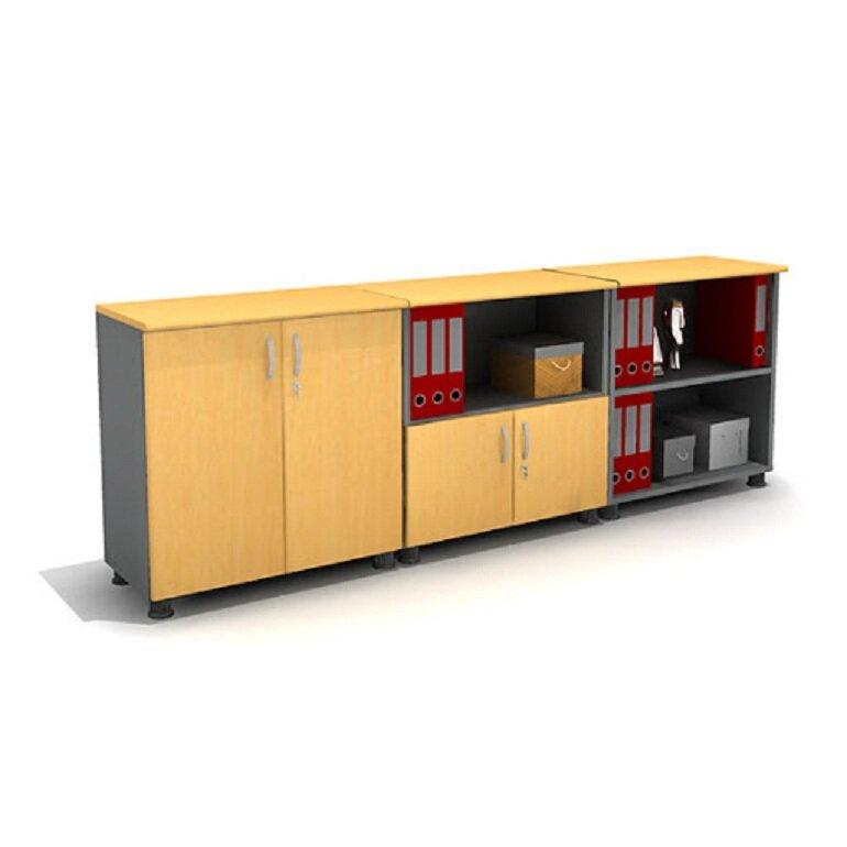 Tủ đựng tài liệu thấp có kích thước nhỏ gọn