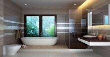 Làm cách nào thiết kế nội thất phòng tắm cao cấp