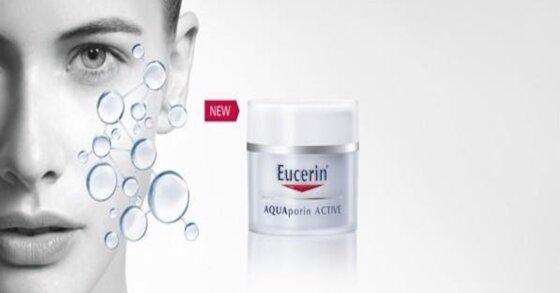 Làm đẹp hiệu quả với kem dưỡng ẩm Eucerin