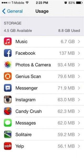 Làm gì khi smartphone báo bộ nhớ đầy