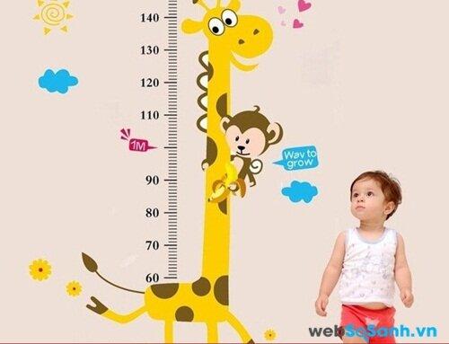 Làm sao để biết chiều cao của con bạn trong tương lai?