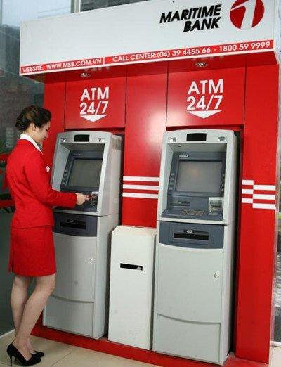 Làm thẻ ATM Maritime Bank như thế nào?