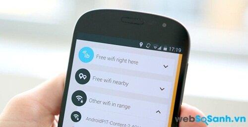 Làm thế nào để bắt Wifi miễn phí ở mọi nơi?