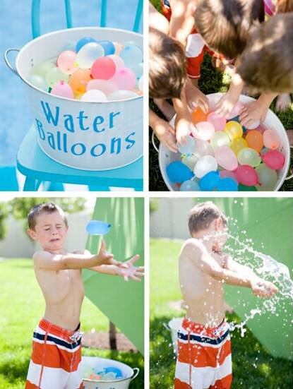 Làm thế nào để trẻ cảm thấy mát mẻ và vui vẻ trong những ngày hè nóng bức?